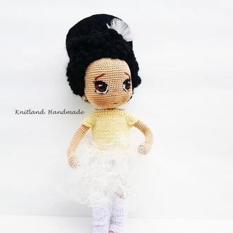 Коллекционная кукла танцовщица в пачке