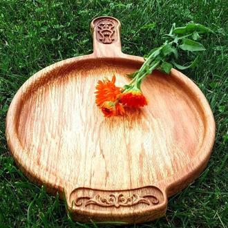 Декоративная посуда из ценных пород древесины
