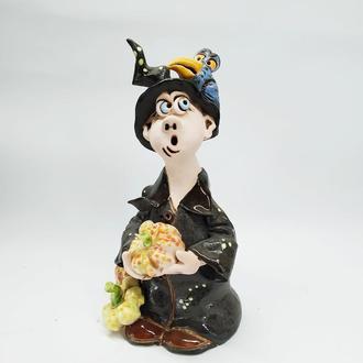 Статуэтка керамическая Ведьмочка