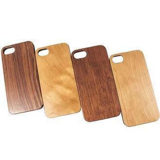 Деревянный чехол для IPhone 8 с гравировкой