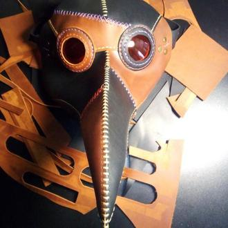 Кожаные маски под заказ