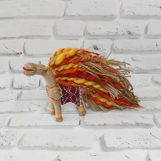 Кукла мотанка Солнечный конь