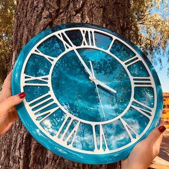 Настінні годинники з епоксидної смоли
