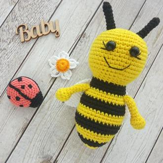 М'які брязкальця, в'язані брязкальця, бджілка