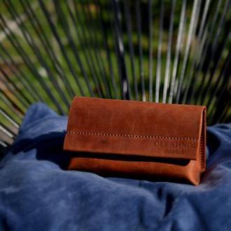 Сумка на пояс из натуральной кожи