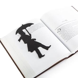 Закладка для книг «Пушкин под дождем»