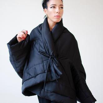 Куртка-трансформер черная