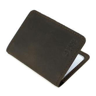 Обложка кожаная на ID паспорт, права Handycover HC0047 коричневая