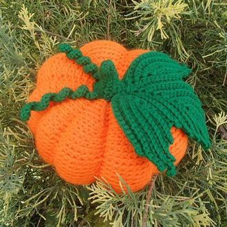 Тыква к Хэллоуину, декоративная игрушка