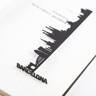 Закладка для книг «Барселона»