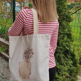 Эко-сумка с принтом Шоппер