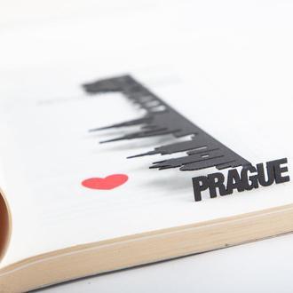 Закладка для книг «Прага»