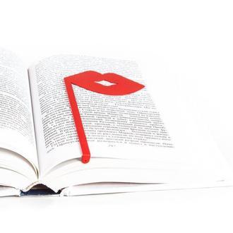 Закладка для книг «Губы»
