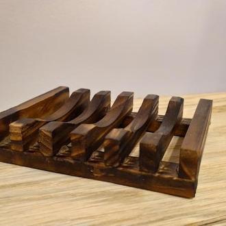 Мыльница деревянная №1
