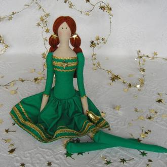 Кукла в стиле Тильда Сандра 48см
