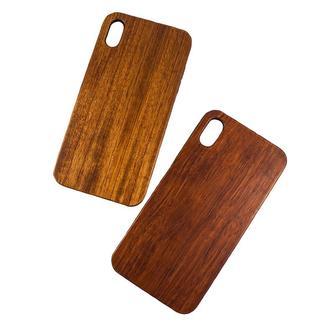 Деревянный чехол для IPhone XS Max с гравировкой