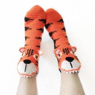 Носки-тигры