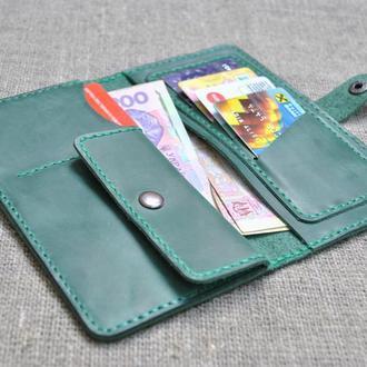 Красивый кошелек из натуральной кожи  K23-350