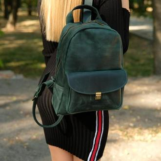 Кожаный рюкзак, Рюкзак с натуральной кожи, Подарок для неё