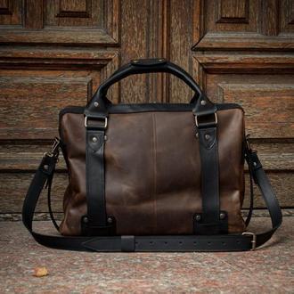 Деловая мужская сумка для повседневного использования