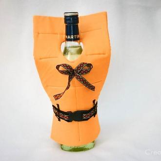 Спасательный жилет для бутылки вина