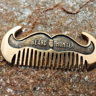 Гребінь для бороди Beard Hunter #1