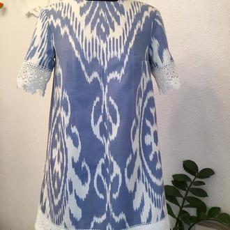 Платье-трапеция + клатч