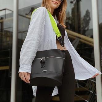 Стильная осенняя женская сумка TOSYO barrel