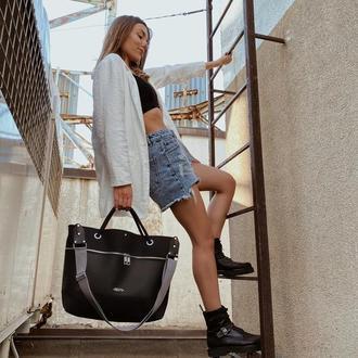 Женская осенняя сумка TOSYO Shopper