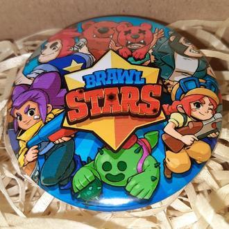 Значок круглый из игры brawl stars