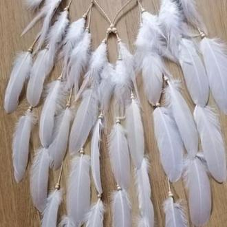 Повязка на голову с перьями бохо, хиппи повязка для волос, свадебная повязка бохо белая