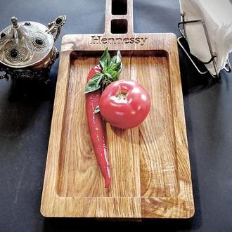 Декоративний посуд з цінних порід деревини
