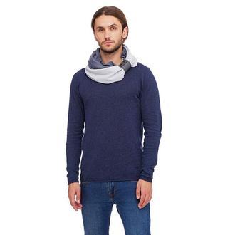 """Кашемировый шарф""""Милан """", шарф снуд, шарф бактус, зимний мужской шарф, большой мужской шарф"""