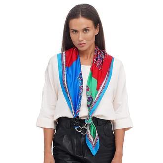 Шелковый платок от бренда my scarf, шейный платок, подарок женщине