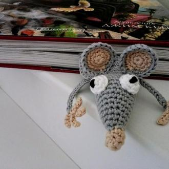 Закладка для книг Мышь книголюба