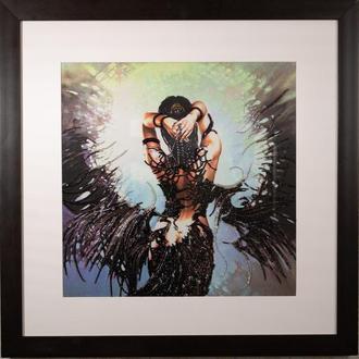 Велика картина оголена натура жінка дівчина з крилами