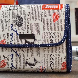 Текстильный органайзер для хранения вышивки London
