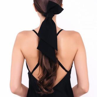 Петля из костюмной ткани Natochka / резинка для волос