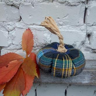 Тыква в декоре, декор из тыквы, тыква из ткани, декоративные тыквы, осенний декор
