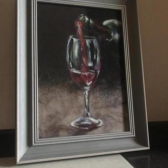 Эксклюзивная Картина из шерсти шерстяная живопись акварель
