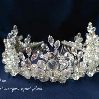 Шикарная свадебная корона