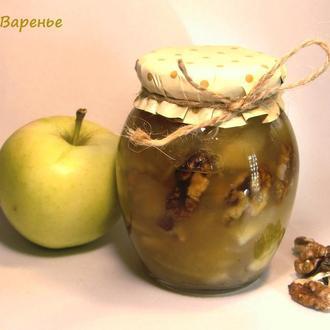 """Варенье """"Яблоко + орех"""" (начинка для выпечки) 350 мл"""