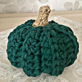 Осенний декор из трикотажной пряжи