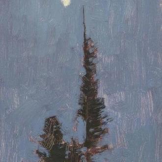 """Картина маслом """"Місячна ніч"""""""