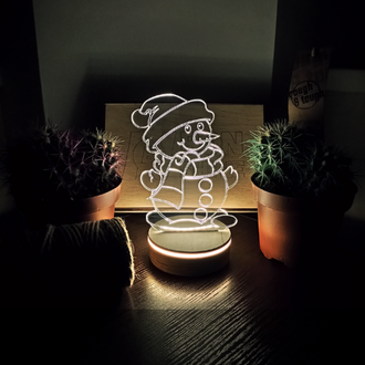 3D Ночник Bon Shine