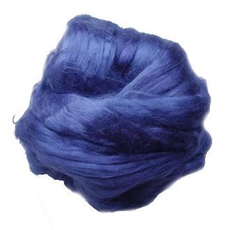 Шелковое волокно Малбери (Mulberry) 5 г,  джинс №17