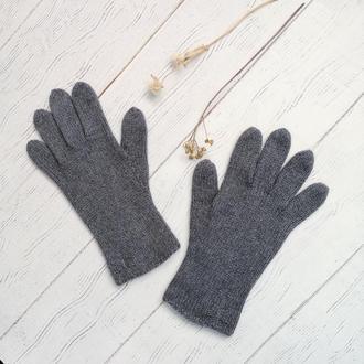 Зимние перчатки с шелком и кашемиром
