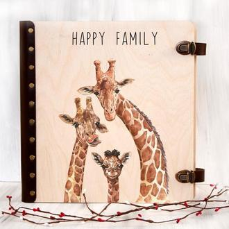 Семейный альбом для фотографий с магнитными листами под заказ