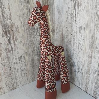 Мягкая игрушка Жираф из ткани