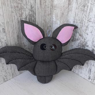 Мягкая игрушка Летучая мышь текстильная